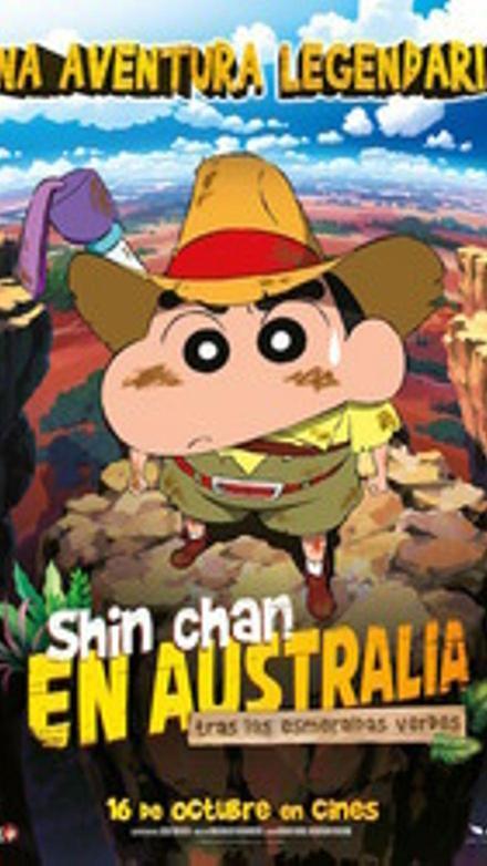 Shin Chan en Australia. Tras las esmeraldas verdes