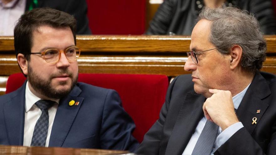 "Aragonès, el ""heredero"" de Junqueras que sustituye a Torra en el peor momento"