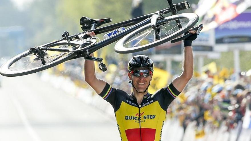 Gilbert se lleva el Tour de Flandes a lo grande