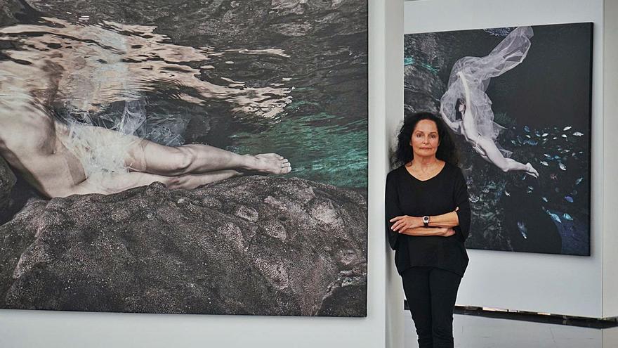L'Oceanogràfic presenta las fotografías 'Somos agua' de Isabel Muñoz