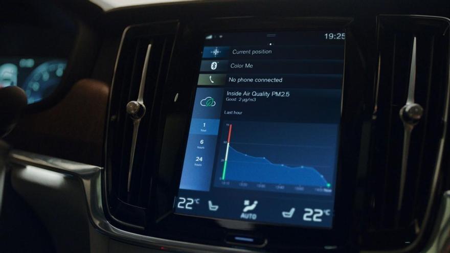 Volvo equipa en sus coches una nueva tecnología que mejora la calidad del aire interior
