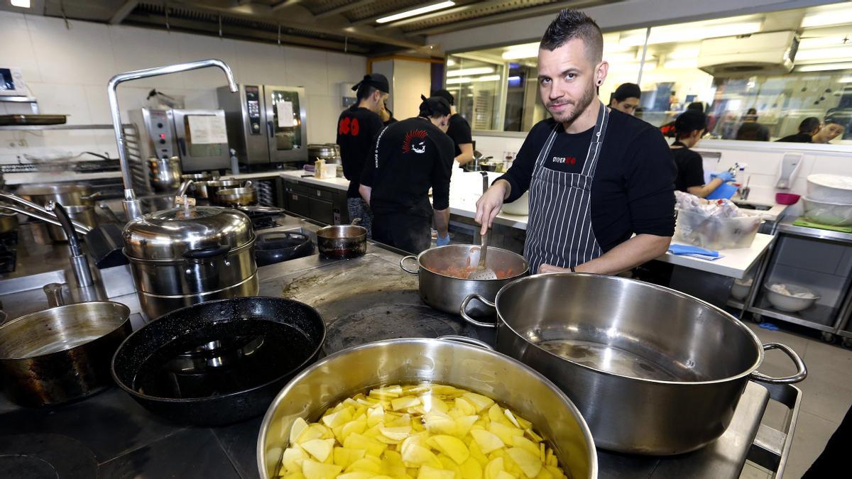El chef David Muñoz.