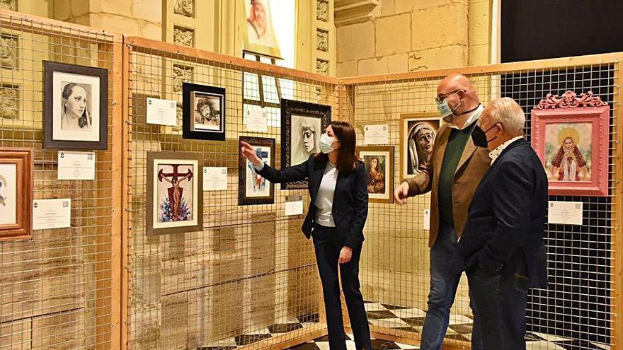 Las Clarisas acoge una puja virtual de cuadros religiosos