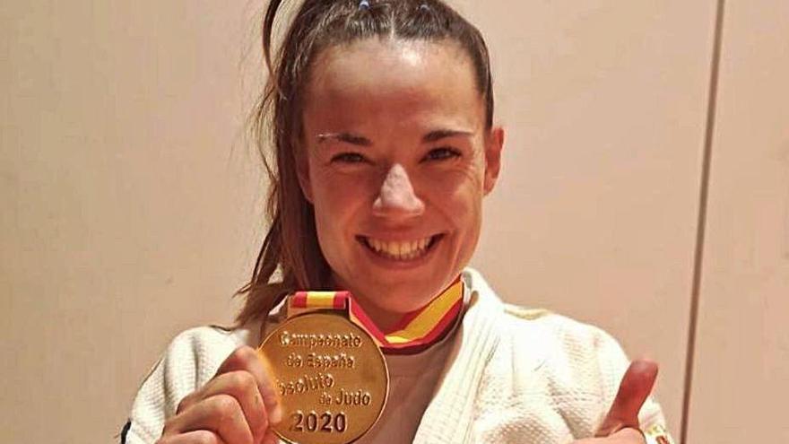 La moianesa Carla Ubasart guanya l'or a l'estatal absolut de judo