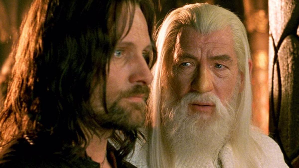 Fotograma de 'El señor de los anillos'.
