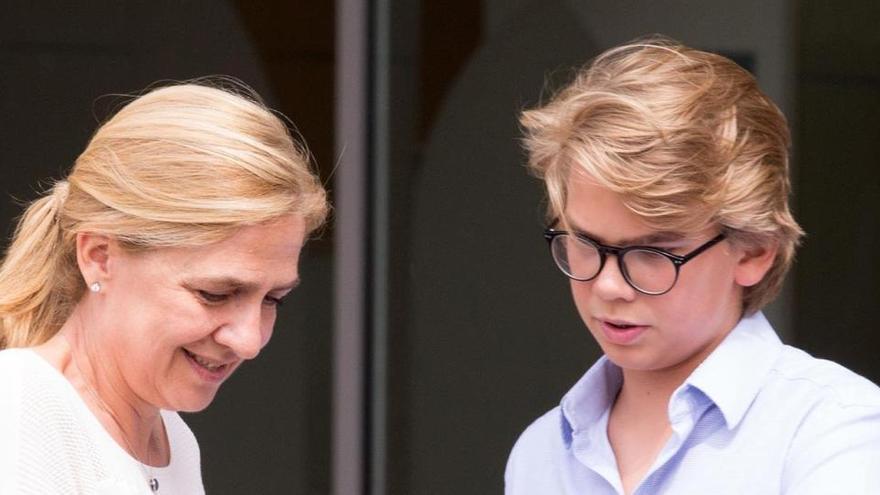 Así es Miguel Urdangarin, el hijo de la Infanta Cristina e Iñaki que cumple 18 años