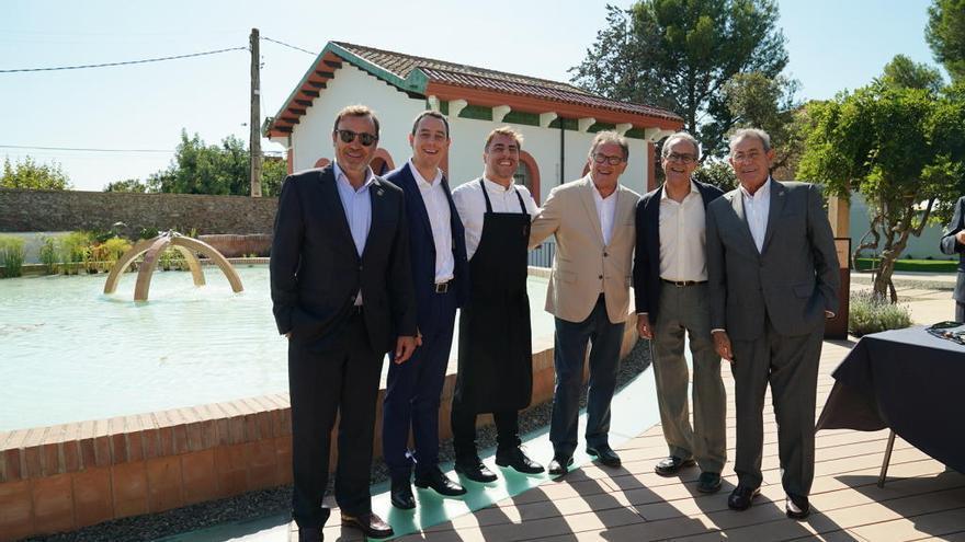 Jordi Roca desvetlla les primeres postres inspirades en aigua de  Vilajuïga