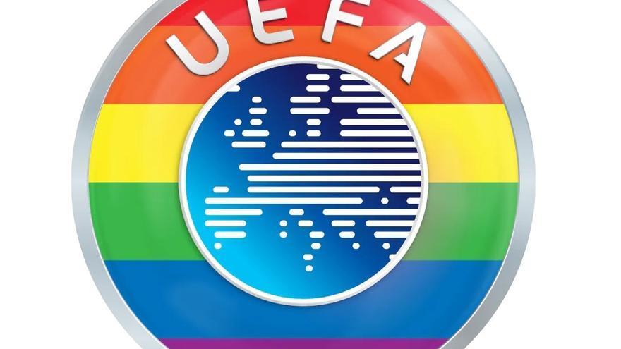 """La UEFA se muestra """"orgullosa de llevar los colores del arcoíris"""" tras la polémica en la Eurocopa"""