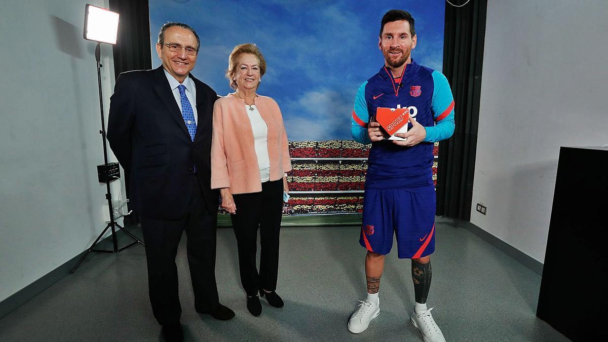 Nadal, Messi, Carolina Marín y la Fundación Gasol reciben los premios Valores del Deporte  de Prensa Ibérica