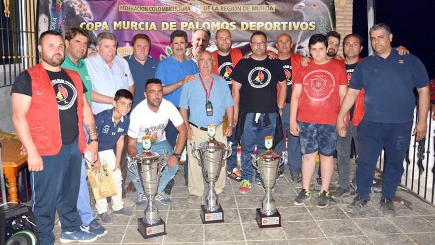 'Barraco' se proclama campeón de la Copa Murcia de palomos deportivos