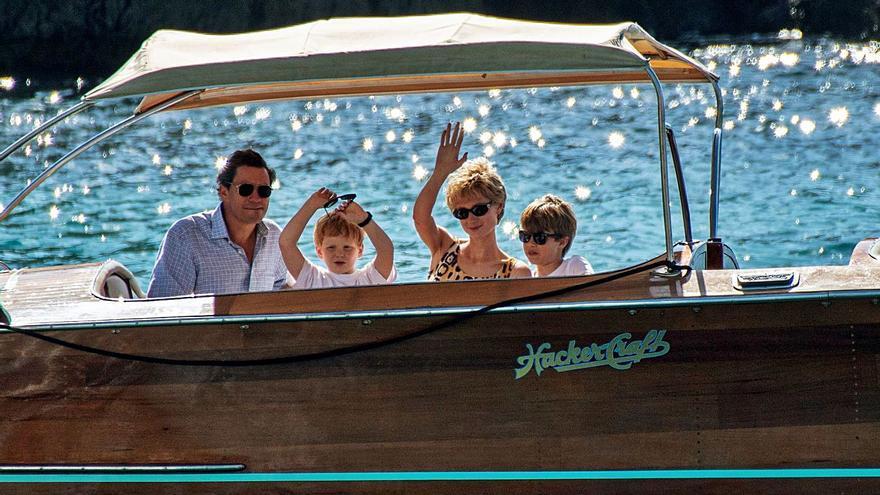 El rodaje de la serie 'The Crown' deja un millón de euros en Mallorca