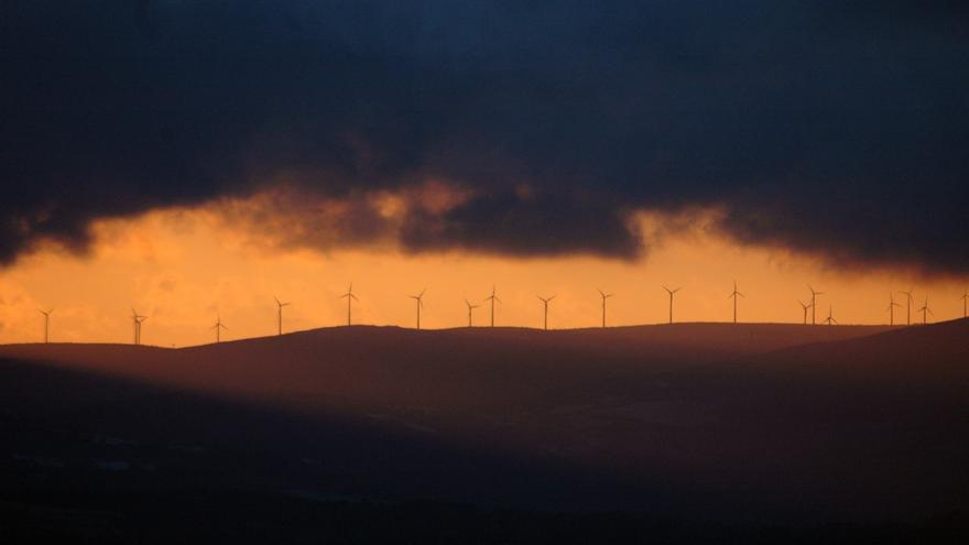 Un estudio incluye las comarcas en las zonas de sensibilidad máxima para nuevos eólicos