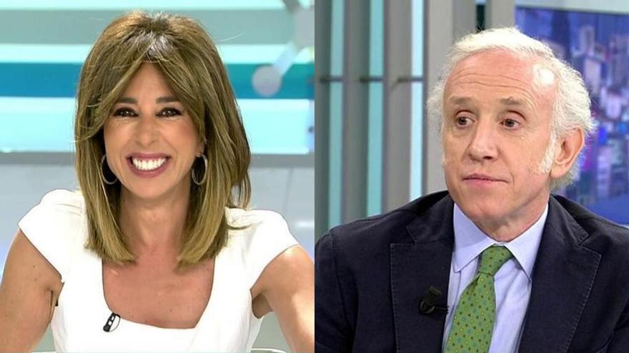 El inesperado pique entre la presentadora de Ana Rosa y uno de los colaboradores del programa