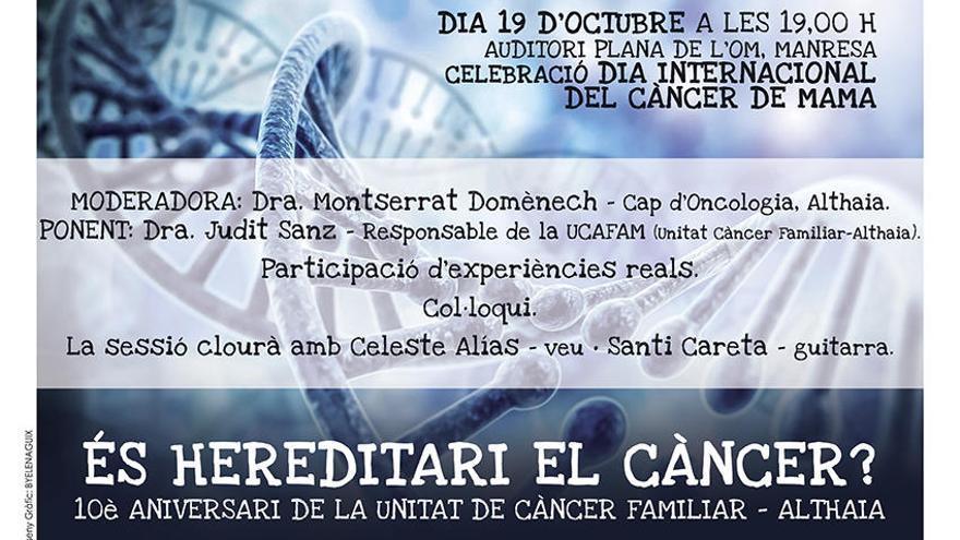 L´Olivera i Althaia commemoren el Dia Internacional del Càncer de Mama