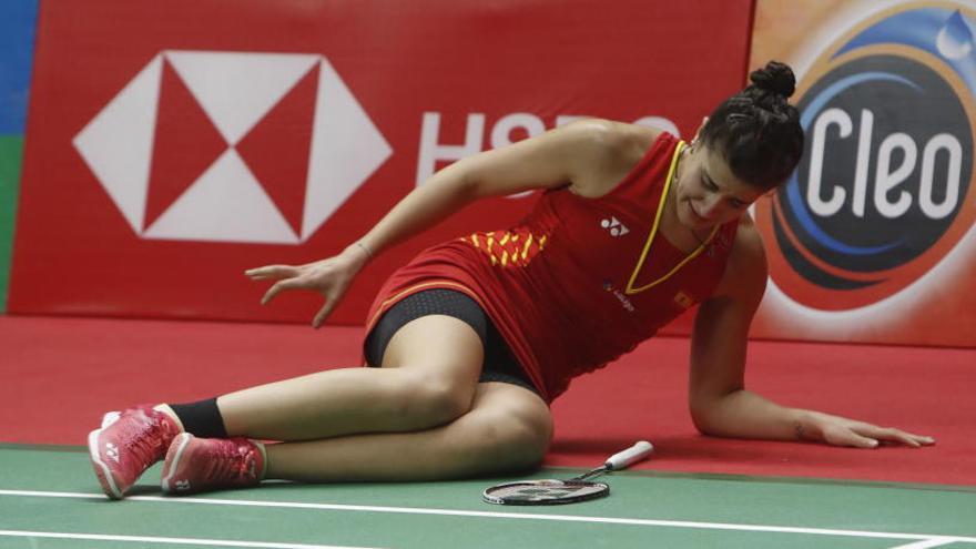 Carolina Marín no acudirá al Mundial de 2019