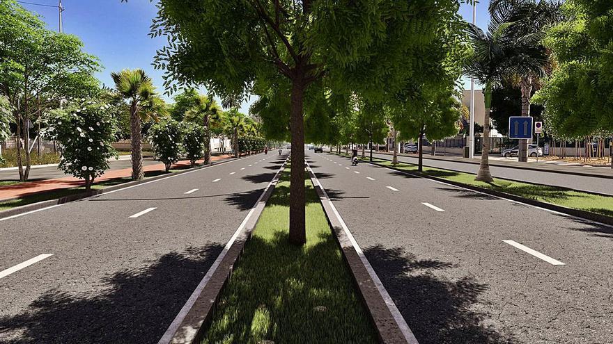 La avenida del Grau abre las obras del Plan de Excelencia Turística