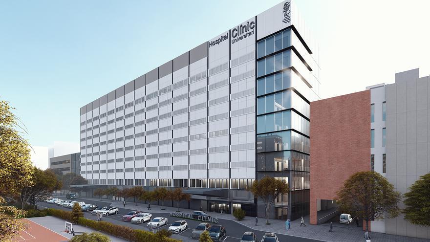 Los dos primeros edificios de la ampliación del Hospital Clínico estarán listos a finales de 2023