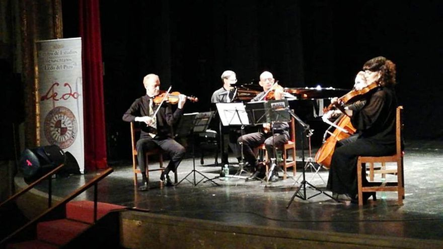 Música de cine a cargo del Quinteto Lumière