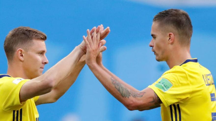 Suècia passa a quarts de final després de guanyar a Suïssa per la mínima