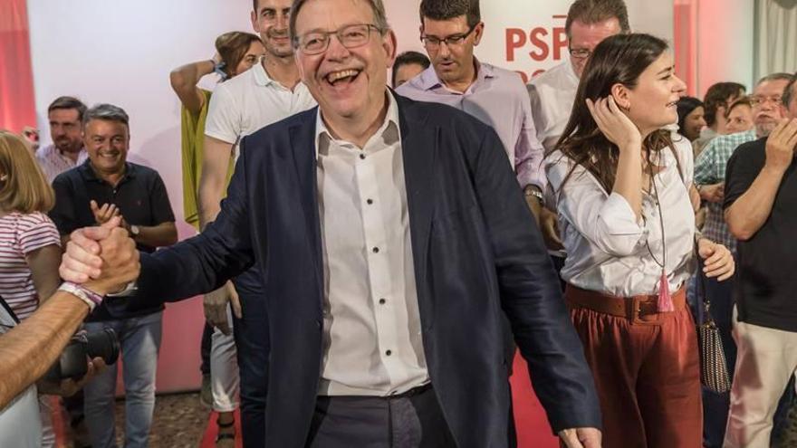 El PSPV aprueba la gestión de Puig con un 68,71 % de los votos de los delegados