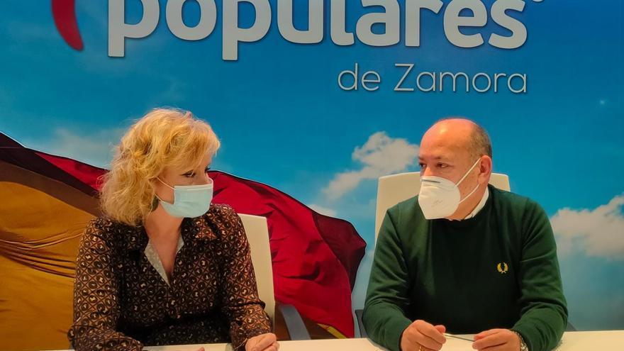 La zamorana Leticia García sustituye a Salvador Cruz en la dirección del grupo popular en las Cortes