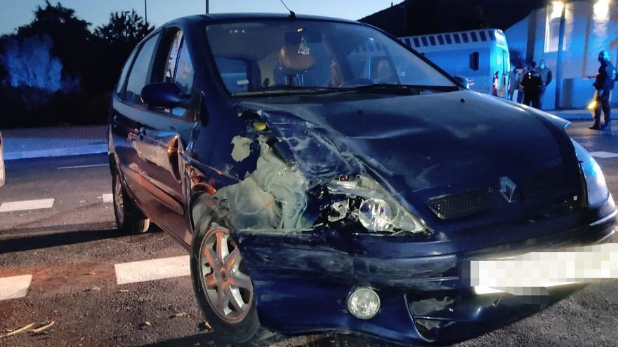 Un conductor ebrio y sin carnet causa un accidente múltiple en Peñíscola