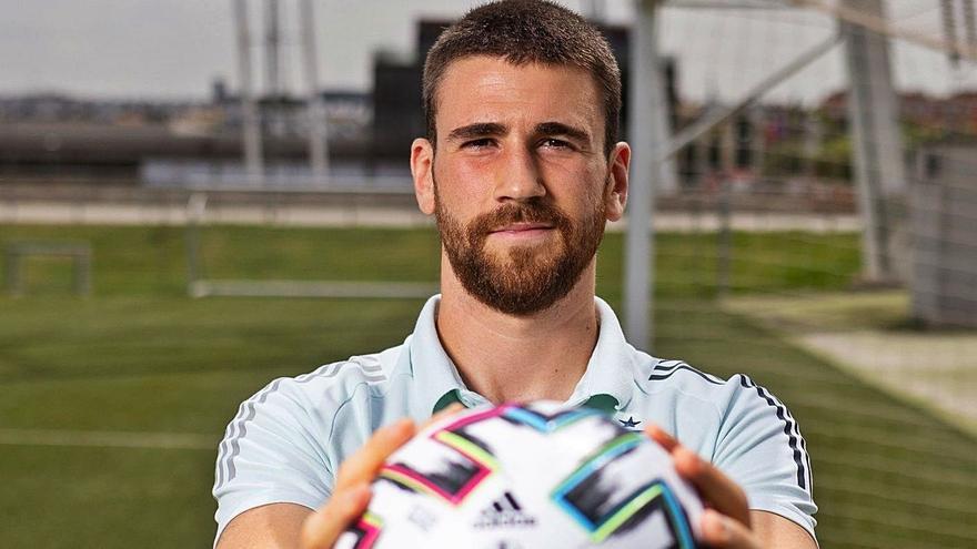 """Unai Simón, portero de España en la Eurocopa: """"Cabeza fría y ser de hielo, así entiendo ser portero"""""""