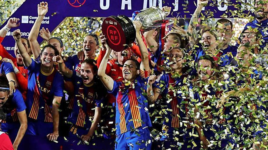 Un Barça intractable guanya la Copa i s'adjudica el triplet