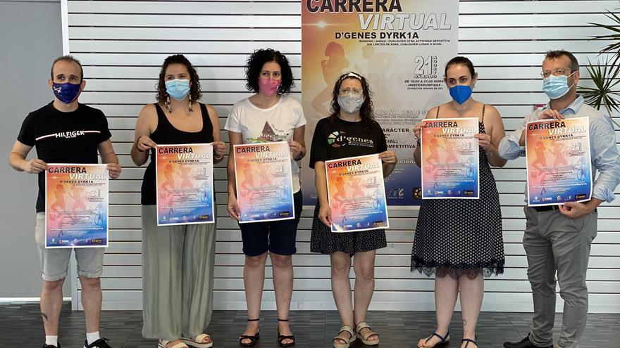 La Asociación de Enfermedades Raras D´Genes organiza una carrera virtual solidaria