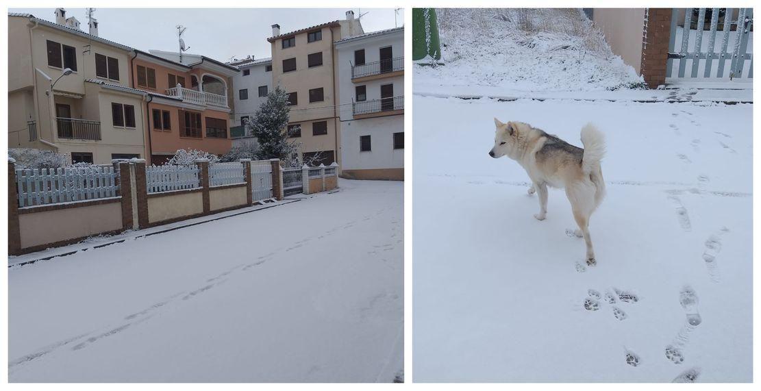Llegan la nieve a la Comunitat Valenciana