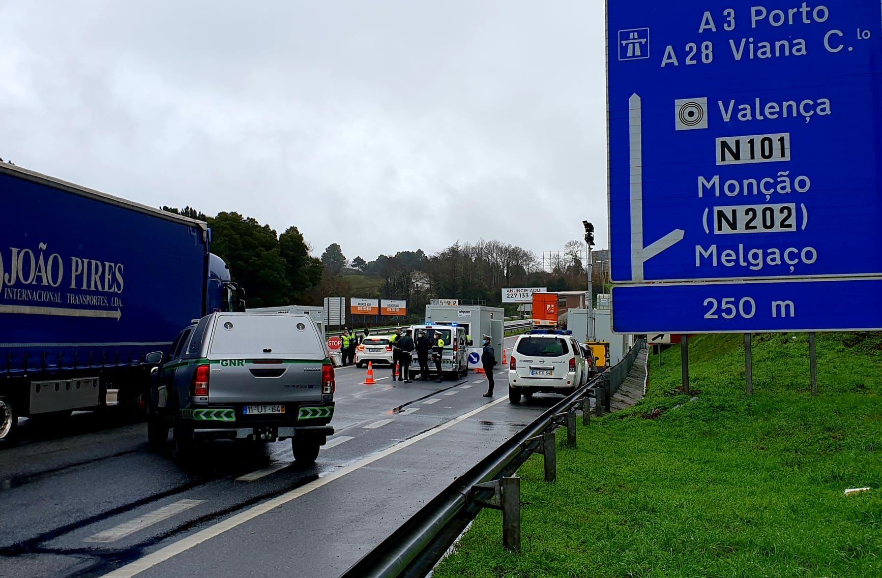 Portugal echa el cierre a la frontera con Galicia