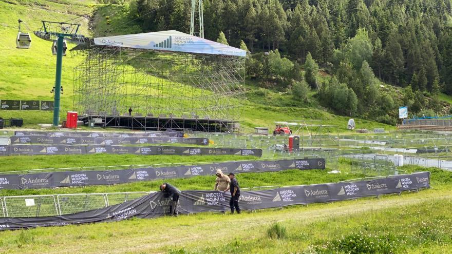 Arrencada d'èxit a l'Andorra Mountain Music:  gairebé totes les entrades venudes pels concerts de David Guetta i Armin Van Buuren