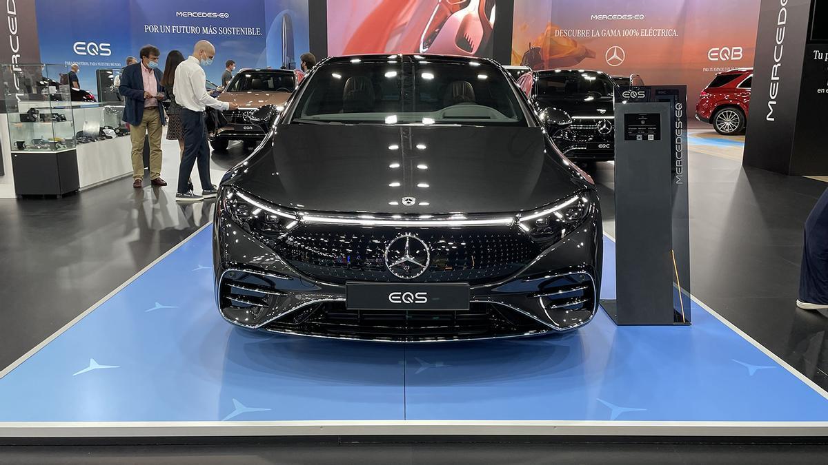 Novedades del Automobile Barcelona 2021: Mercedes-Benz EQS