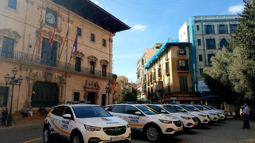 La Policía de Palma tendrá 15 coches nuevos mediante el sistema de 'renting'