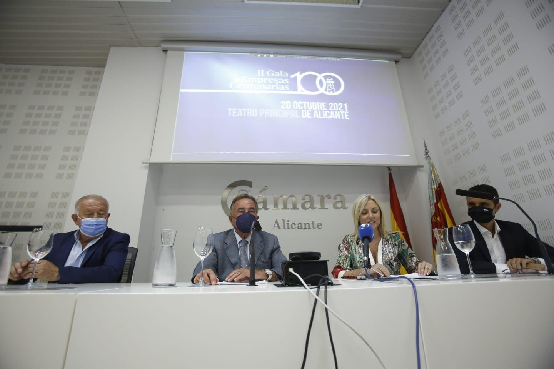 Presentación de la Gala de entrega de los Premios de la Cámara de Comercio de Alicante
