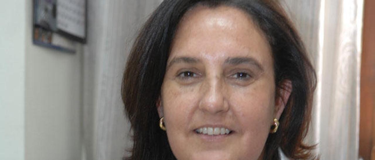 La magistrada Pilar Parejo.