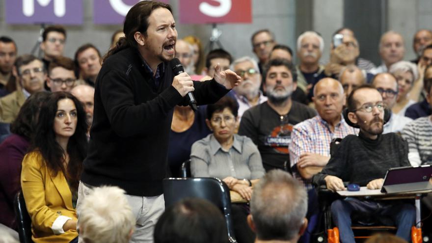 Discreto adiós a Iglesias en Aragón