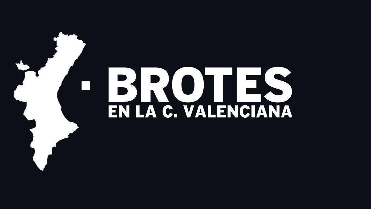 Consulta el listado completo de brotes en la Comunitat Valenciana