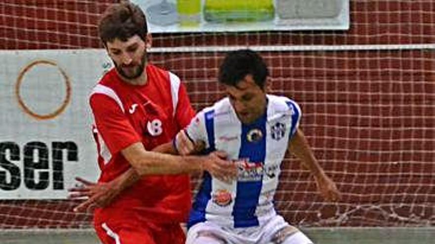 Un gol de Joselu da la victoria al Desguaces Casquero sobre la bocina