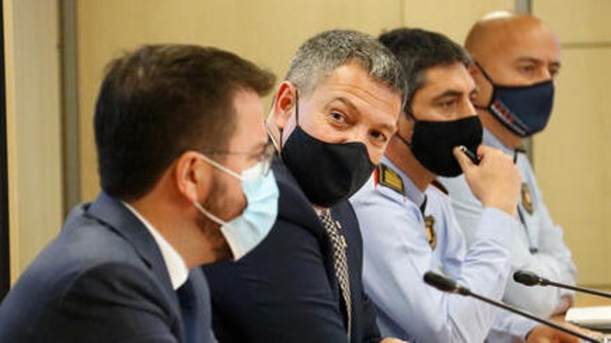 Aragonès comunica a Sàmper que com a president no utilitzarà el grup d'escortes creat per Torra