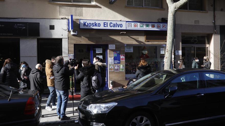 El Gordo de Navidad en Zamora: Un kiosko de Víctor Gallego vende un décimo del 72897