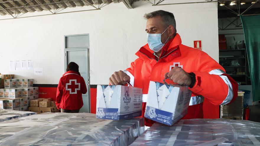 Cruz Roja repartirá en Zamora 24.000 kilos de alimentos entre más de un millar de vecinos vulnerables