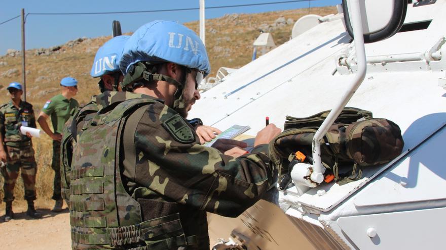 El Mando de Canarias desplegará 612 militares a la próxima misión en Líbano