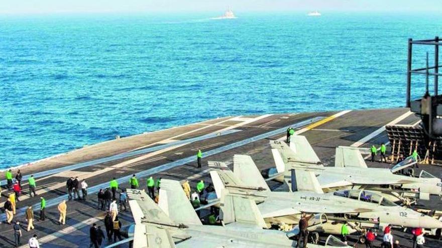 EEUU y Marruecos realizan maniobras militares entre Canarias y Agadir