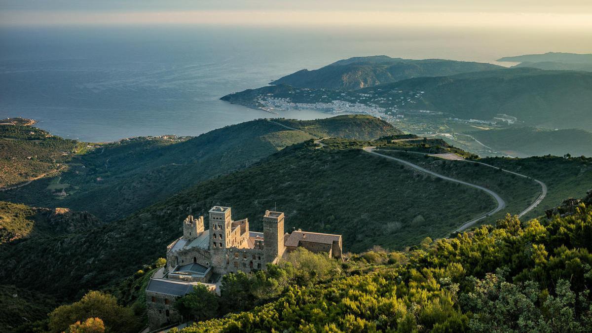 El monestir de Sant Pere de Rodes és un dels sis finalistes