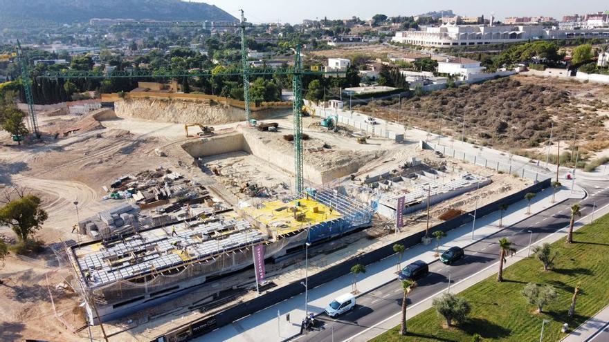 La construcción se traslada a Benalúa Sur y Vistahermosa Norte