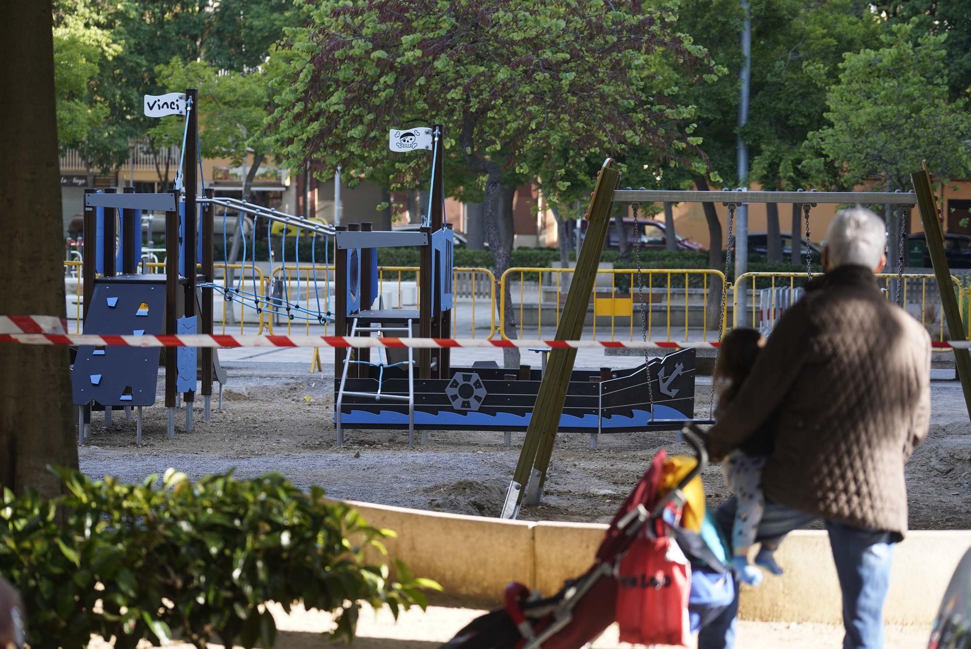 Revol pel nou vaixell de la plaça de Santa Eugènia