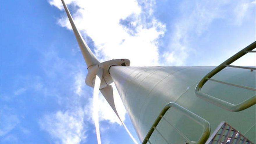 Nuevo parque eólico de autoconsumo en el norte de Gran Canaria