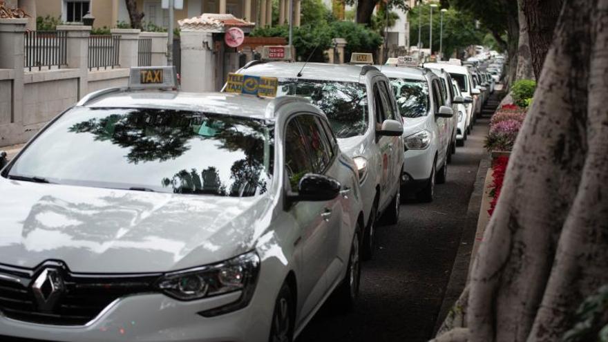 Los taxistas no quieren 'guerra'