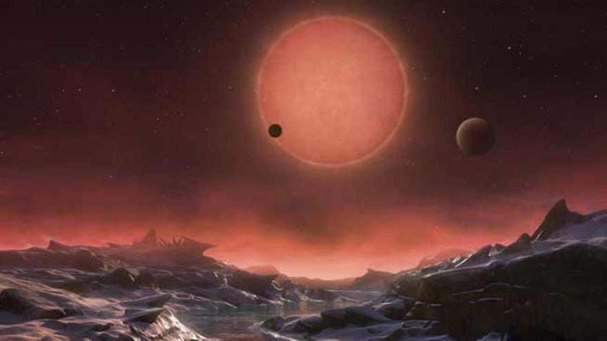 Hallan tres planetas similares a la Tierra que podrían albergar vida